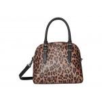 Carrigan Dome Satchel Leopard