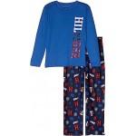 Two-Piece Collegiate Pants Sleepwear Set (Big Kids)