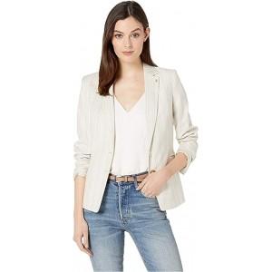 Novelty Stripe Jacket Khaki Multi