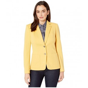 Two-Button Patch Pocket Jacket Honey