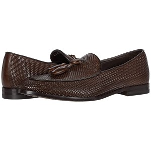 Canali Printed Woven Loafer Brown