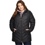 Plus Size Heavenly Long Hooded Jacket