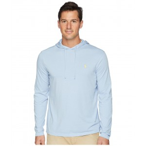 Hooded Jersey T-Shirt Chambray Blue