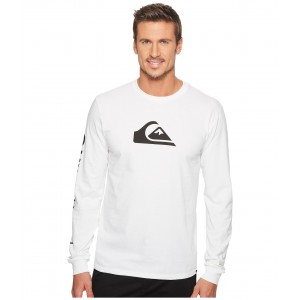 MW Logo Long Sleeve Tee White