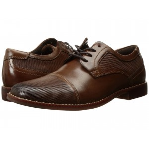 Style Purpose Perf Cap Toe Brown Leather