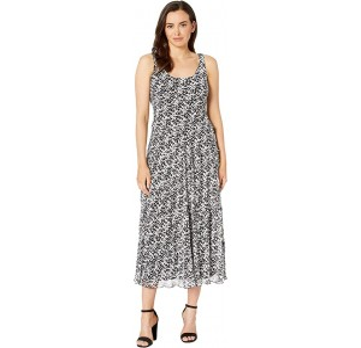 Multi Tier Maxi Dress - Yoryu Black/Ivory