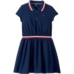 Zipper Polo Dress (Big Kids)