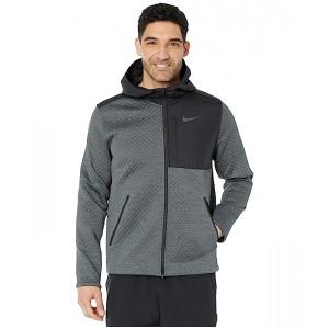 Nike Thermasphere Max Jacket Hooded Full Zip Black/Smoke Grey/Heather/Dark Grey