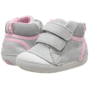 SM Milo (Infant/Toddler) Silver Leather