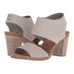 Majorca Cutout Sandal Drizzle Grey Leather