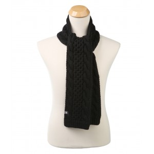Cable Minna Scarf TNF Black (Prior Season)