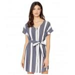 Hear Me Now Dress Mood Indigo Sunshade Stripes