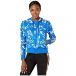Farm Print Hoodie Blue/Active Gold