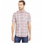 Levis Downes Short Sleeve Woven Brilliant Red
