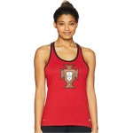 Portugal Crest Dry Tank Top Gym Red/Black