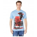 Military Punk Stud Fit T-Shirt