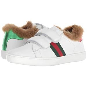 New Ace Faux Fur Sneaker (Little Kid)