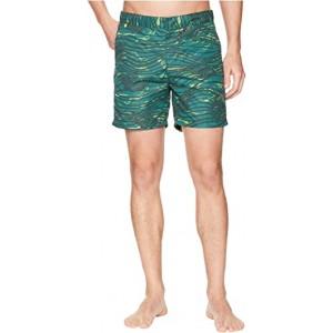 Medium Length Swim Shorts in Sophisticated Patterns Combo E