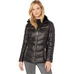 LAUREN Ralph Lauren Polyfill Jacket wu002F Metal Black