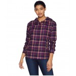 Shelley Midweight Flannel Long Sleeve Grape