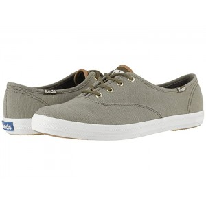 Champion Ticking Canvas Olive Ticking Canvas