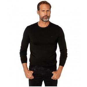 Merino Crew Neck Sweater Black