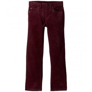 Five-Pocket Stretch Pants (Toddler/Little Kids/Big Kids) Burgundy Corduroy