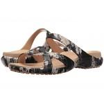 Meleen Twist Graphic Sandal Black/Floral