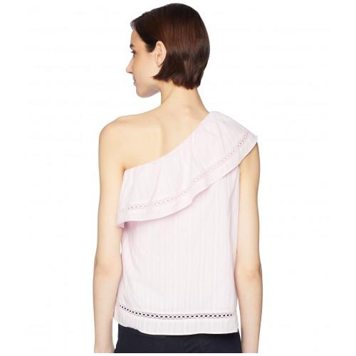 One Shoulder Top Pink Lemonade
