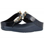 FitFlop Deco Toe Thong Sandals Midnight Navy