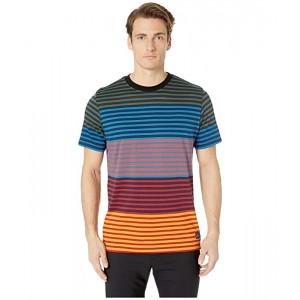 Regular Fit T-Shirt Multi Block Stripe