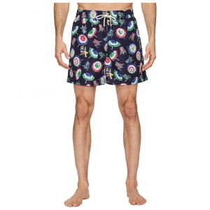 Polyester Traveler Shorts Beach Chairs and Umbrellas