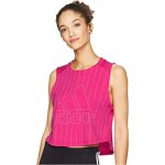 Sport ID Tank Top Real Magenta/White