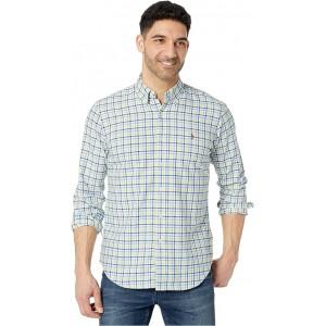 Polo Ralph Lauren Classic Fit Oxford Shirt Yellow/Navy Multi