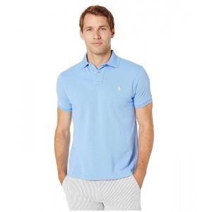 Polo Ralph Lauren Custom Slim Fit Mesh Polo Cabana Blue