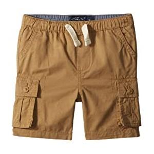 Pull-On Cargo Woven Shorts (Toddler) Kelp