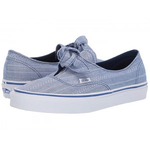 Authentic Knotted (Lace Chambray) True Blue/True White