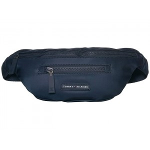 Rubber Nylon Logo Body Bag Tommy Navy