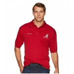 Collegiate Perfect Cast Polo Top Alabama/Red Velvet