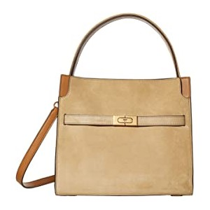 Lee Radziwill Suede Small Double Bag