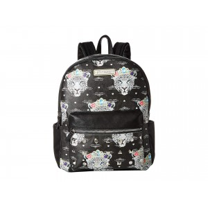 Snow Queen of the Jungle Print Backpack Black/Multi