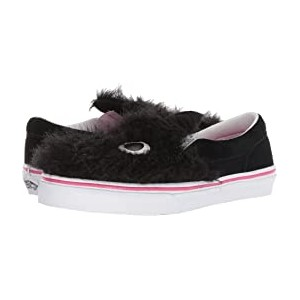 Party Fur Slip-On Friend (Little Kid/Big Kid) (Party Fur) Black/True White