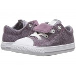 Chuck Taylor All Star Maddie - Ox (Infant/Toddler) Violet Dust/Provence Purple/White