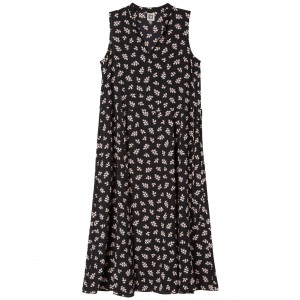 Cot.Ivy Midi Dress Anne Black/First Blush Combo