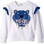 Tiger Fringe Sweatshirt (Big Kids)