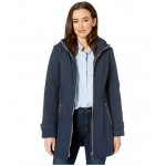 32.5 Hooded Softshell w/ Zip Detail Navy