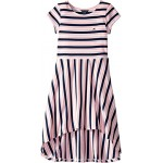 Stripe High-Low Dress (Big Kids)