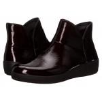 Supermod Leather Ankle Boot Dark Cherry