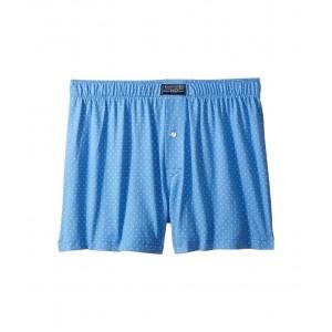 1/20 Cotton Modal Boxer Harbour Island Blue/Nevis Polka Dot