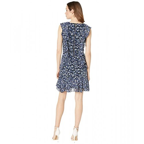 마이클 코어스 Garden Patch Cascade Dress